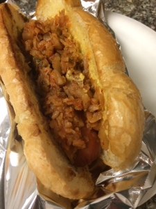 The Kimchi Chronicles hotdog
