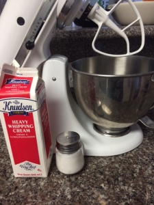 Ingredients for Homemade Butter